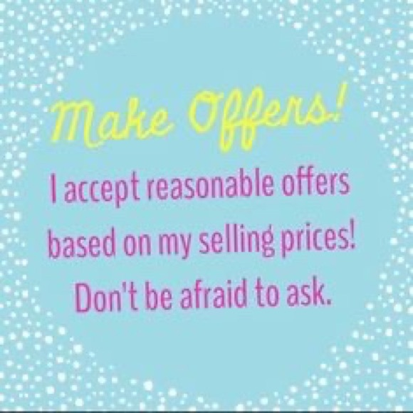 Other - My prices are good but willing to negotiate